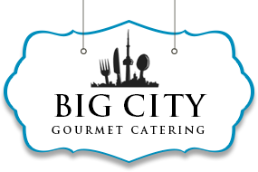 Big city gourmet catering