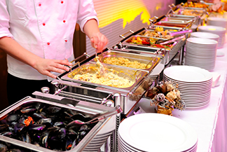 Buffet Hot Menu Selections